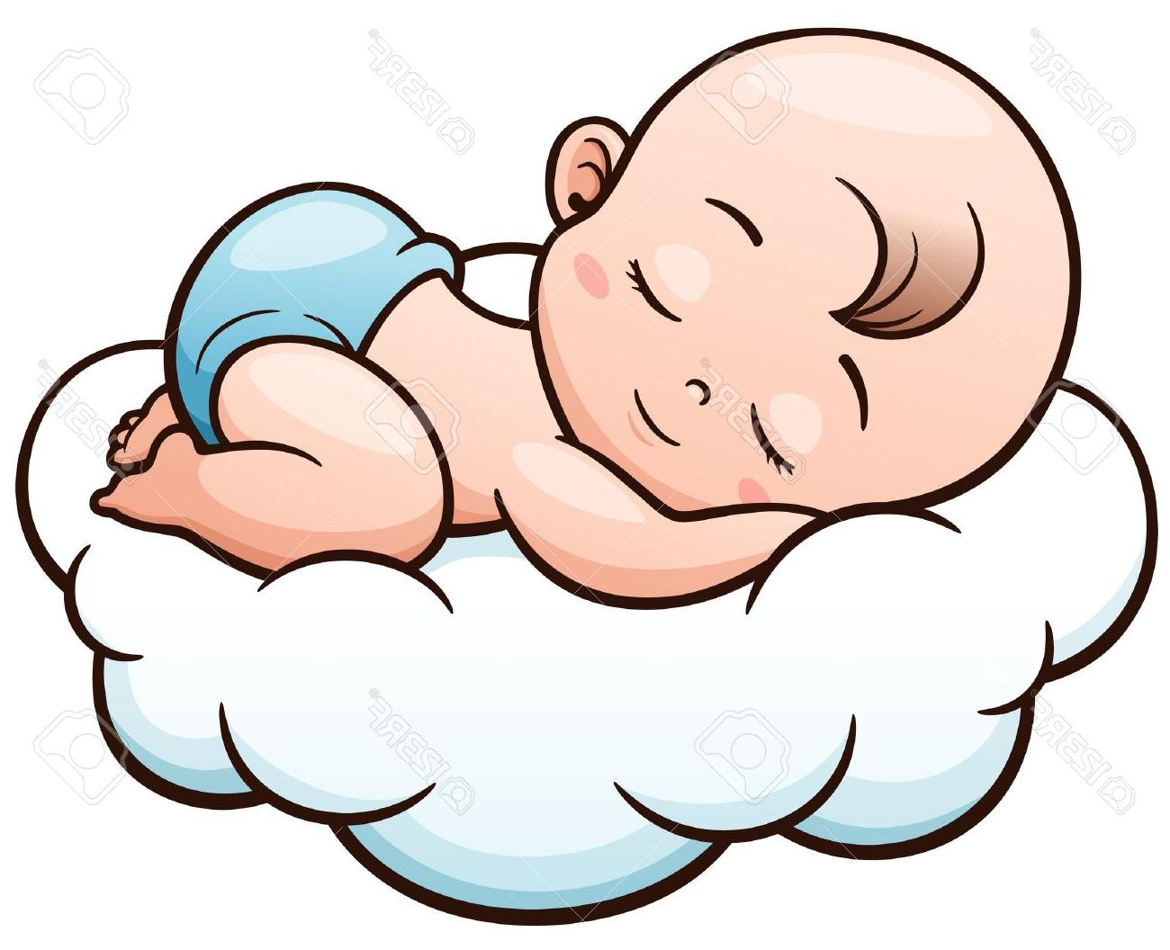 Sleeping baby angel clipart 1 » Clipart Station