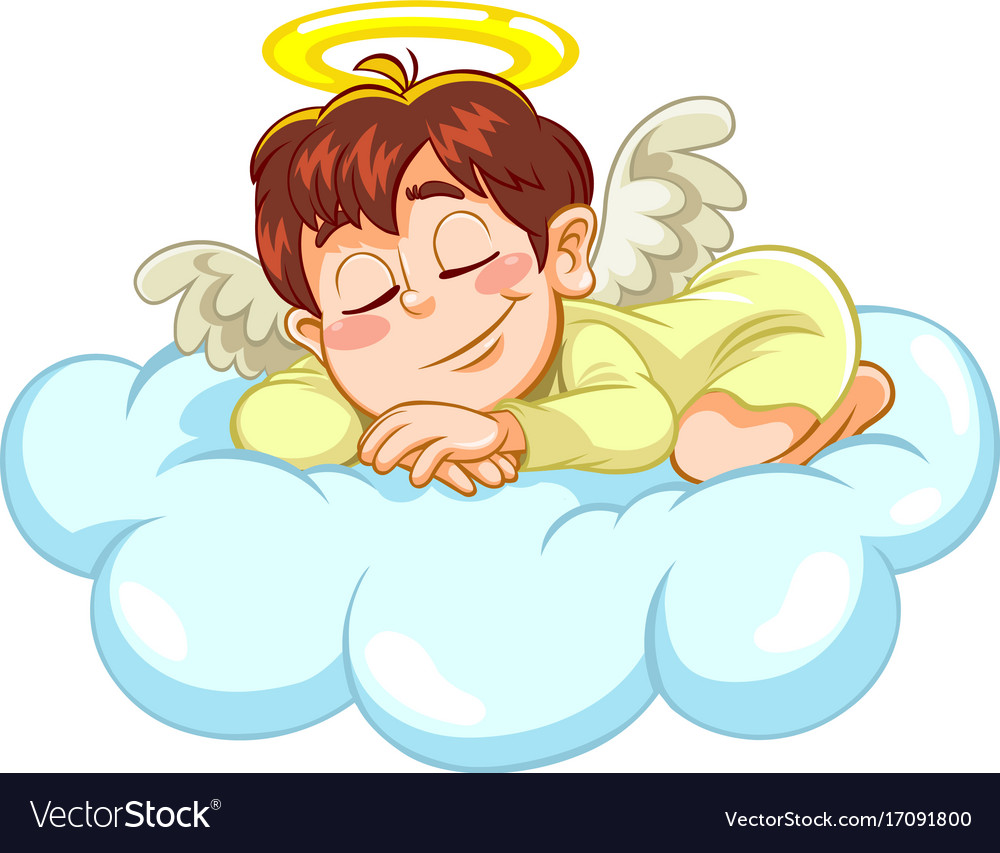 Sleeping baby angel clipart 7 » Clipart Station