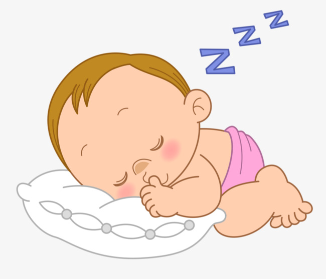 Sleeping baby clipart 4 » Clipart Station