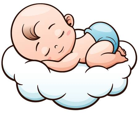 Sleeping baby clipart » Clipart Station