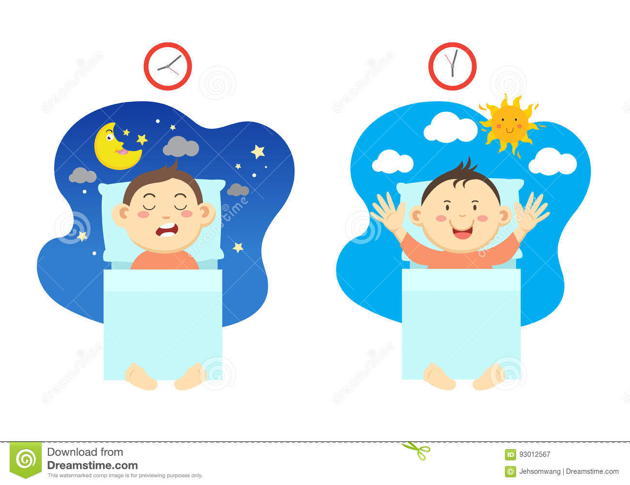 Sleeping early clipart 4 » Clipart Station