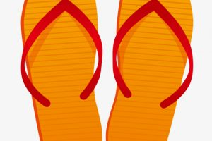 slippers clipart 5