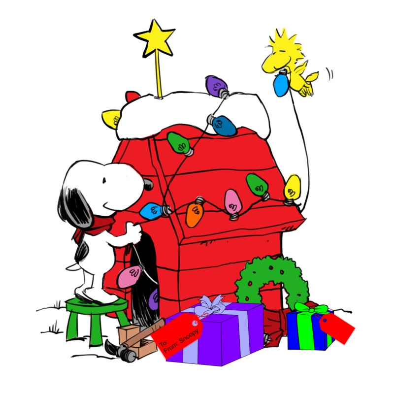 Snoopy Christmas Images.Snoopy Christmas Clipart 7 Clipart Station
