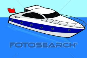 speed boats clipart 9