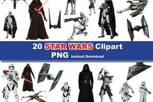 star wars the force awakens clipart 5