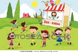 summer activities clipart 6