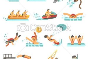 summer activities clipart 8