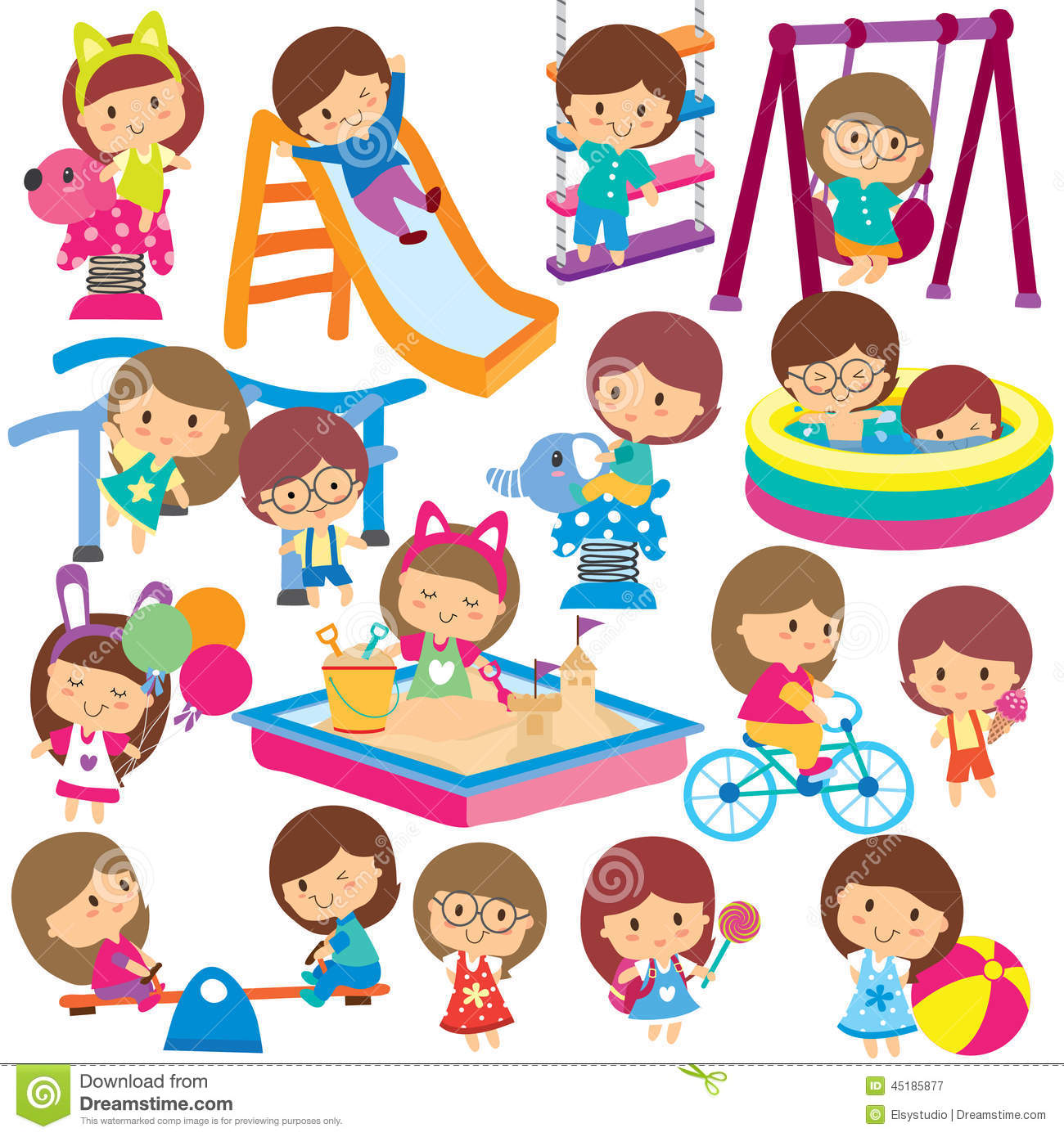 Summer Activities For Kids Clipart 8 Clipart Station