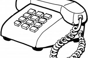 Telephone Clipart Black And White   Letters pertaining to Phone Clipart Black And White