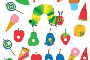 The Very Hungry Caterpillar Clipart 1 Clipart Station
