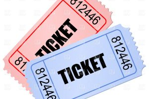tickets clipart 4