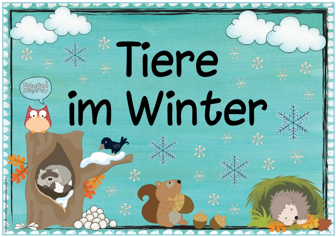 Tiere im winter clipart 7 » Clipart Station