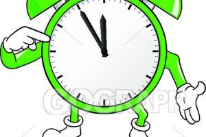 time running out clipart 7