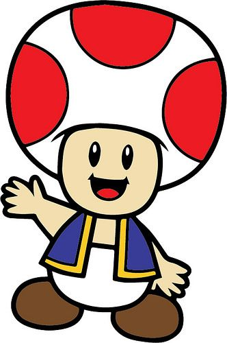 Mario toad. Clipart station