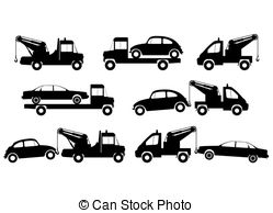towing clipart 4
