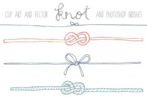 tying the knot clipart 2