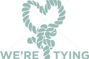 tying the knot clipart 3
