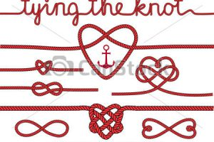 tying the knot clipart 9