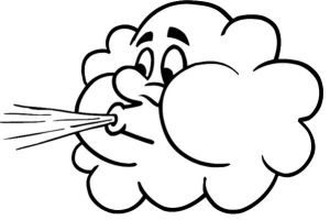 typhoon clipart black and white