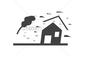 typhoon clipart black and white 4