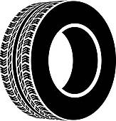 tyre clipart