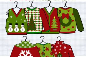 ugly christmas sweaters clipart free 7