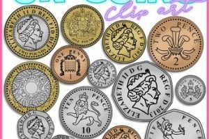 uk money clipart 3