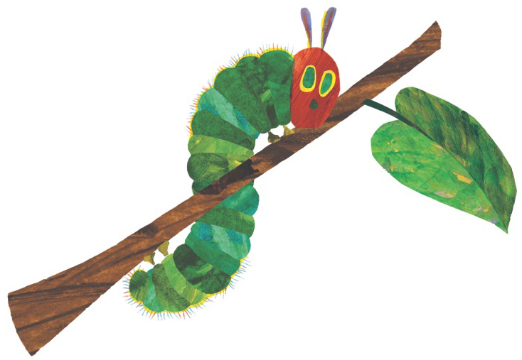 Very Hungry Caterpillar Clipart 6 Clipart Station