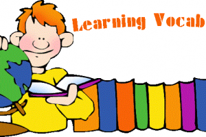 vocabulary clipart