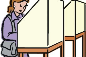 voting booth clipart 6