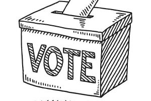 voting box clipart