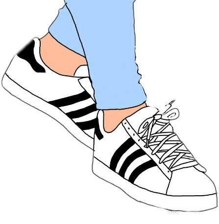 Image result for kids wearing sneakers clip artclipart