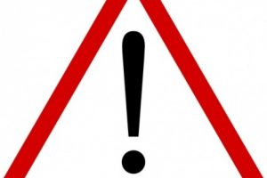 warning sign clipart 1