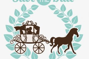 wedding save the date clipart 8