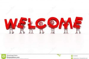 welcome free clipart 7