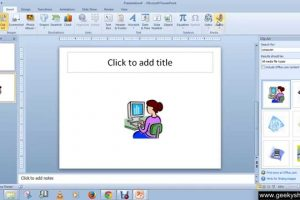where to find clipart in powerpoint 4