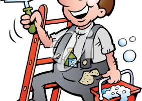 window cleaning clipart free