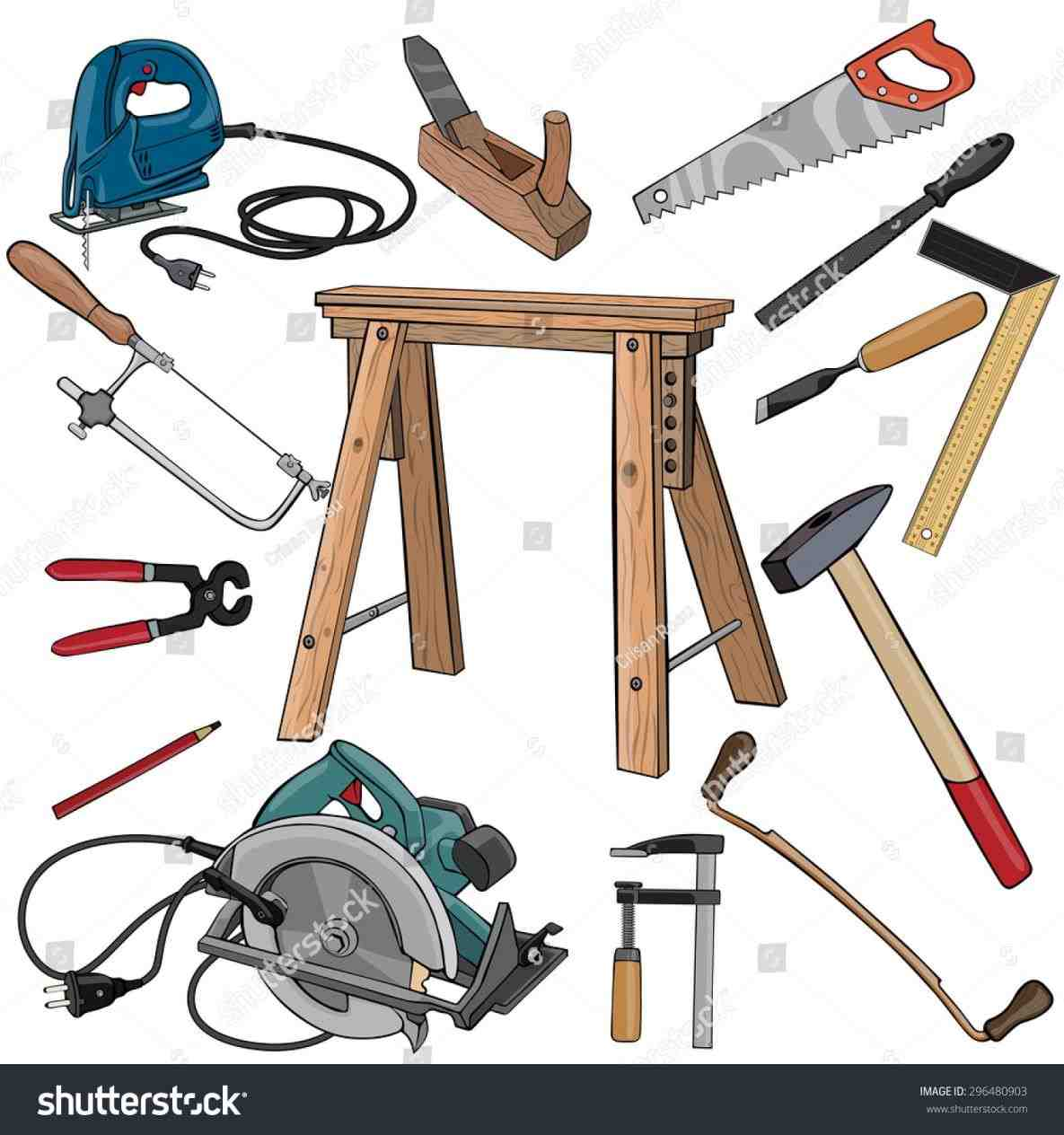 Woodworking Tools Clipart 7 Clipart Station