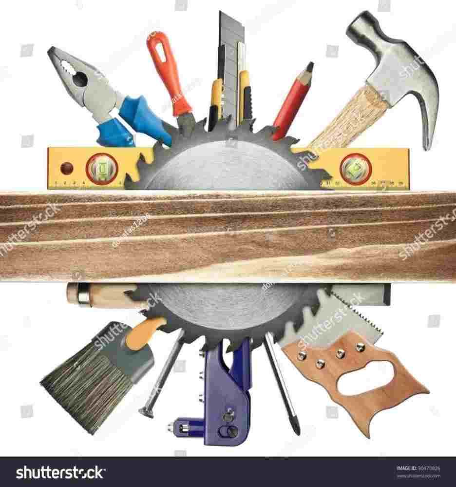 Woodworking Tools Clipart Clipart Station