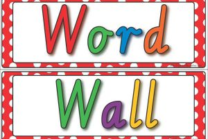 word wall clipart 6