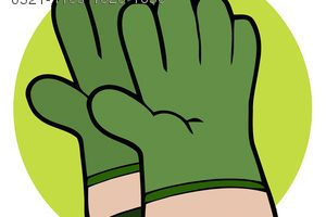 work gloves clipart
