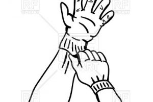 work gloves clipart 6