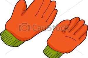 work gloves clipart 8