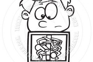 xray clipart black and white 1