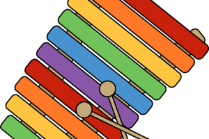 xylophone clipart 3