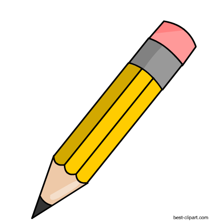 Yellow pencil clipart 4 » Clipart Station (450 x 450 Pixel)