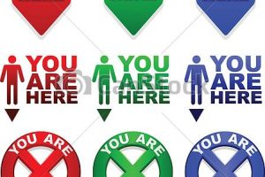 you are here clipart 2
