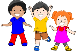 young children clipart 1