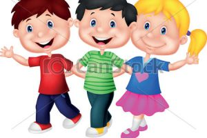 young children clipart