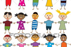 young children clipart 6